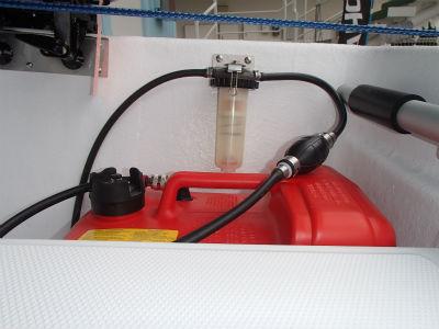 油水分離器 取付