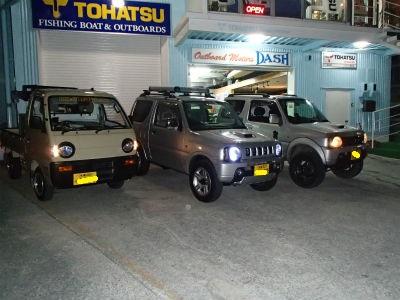 SUZUKI の四駆