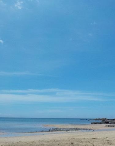 キレイなビーチで