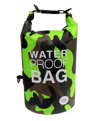 防水バッグ グリーンカモ