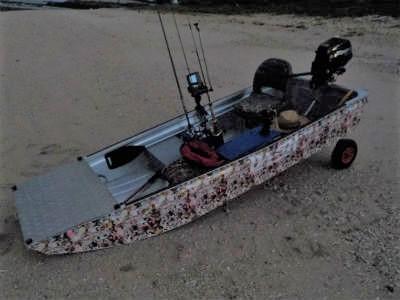 軽量アルミボート