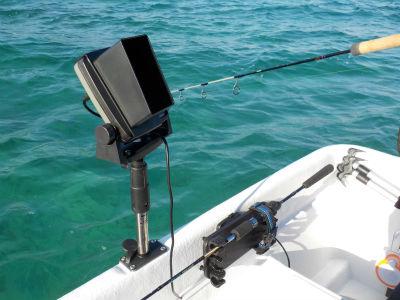 GPS/魚探 取付