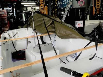 ボートカバーサポートシステム
