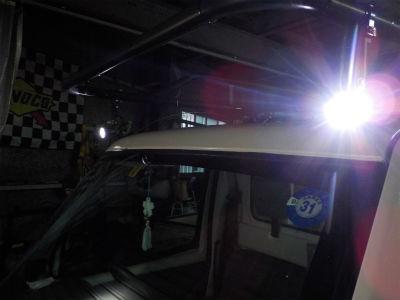 LEDワークライト取付