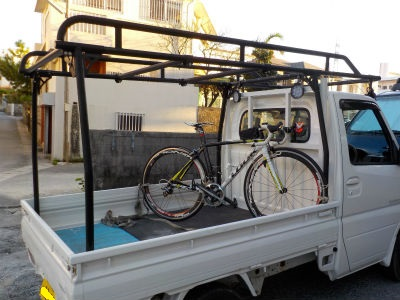 自転車 積載