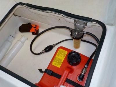 油水分離器取付