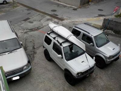 4WD車でご来店