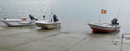 トレーラブルボート 3艇で