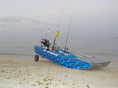 2馬力ボートでGO~