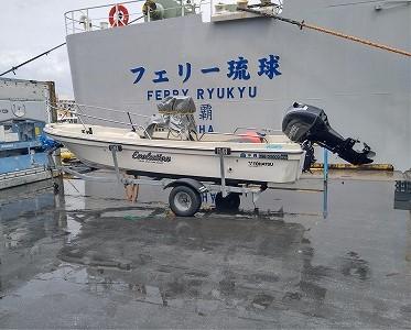 17ftボート