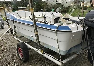 中古 17フィートボート