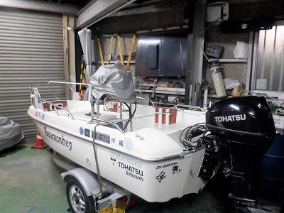 トレーラーブルボート